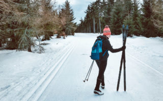 Biegówki narty biegowe Spalona