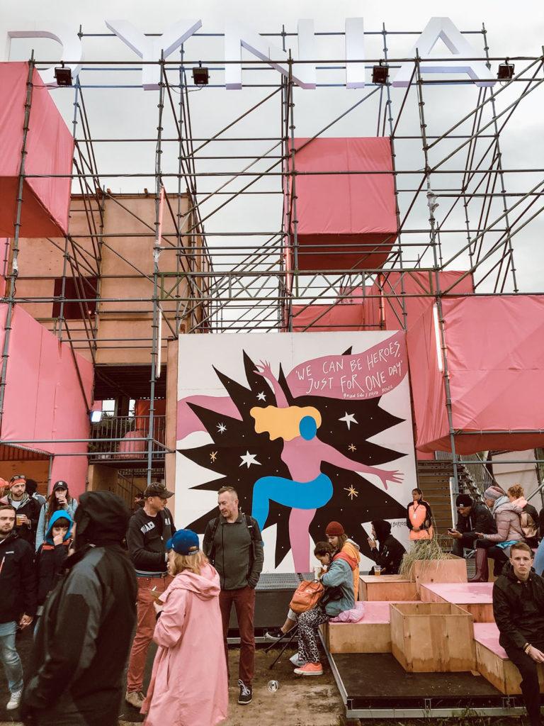 Open'er 2019 miasteczko festiwalowe strefa miasta Gdynia