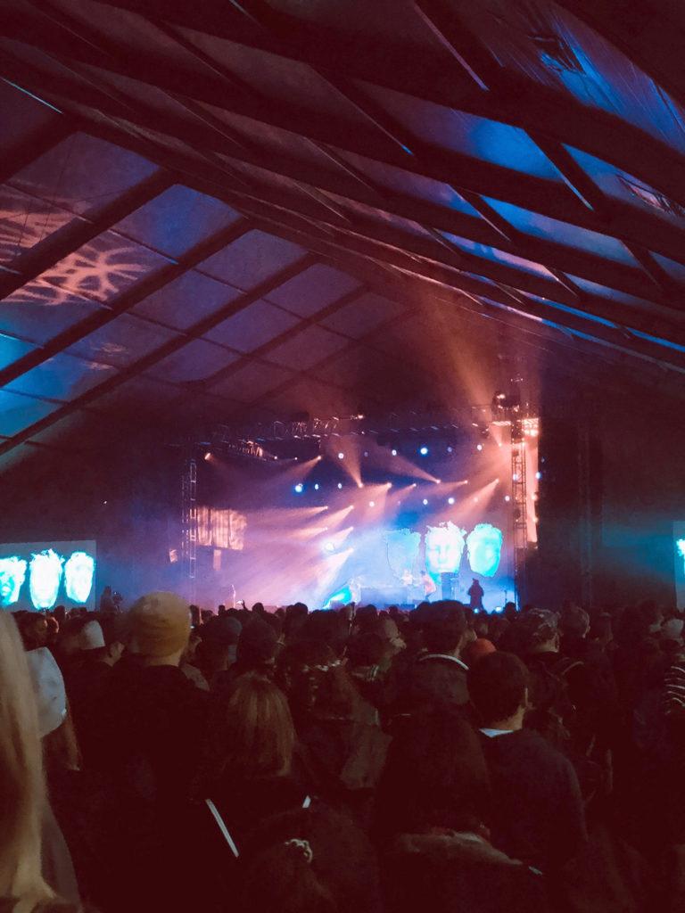 Open'er 2019 tent stage koncert KAMP!