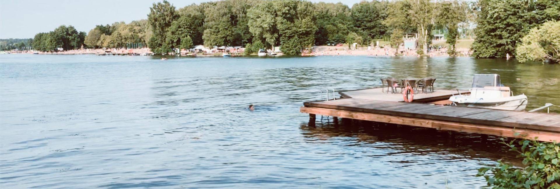 Olsztyn kąpielisko jezioro Ukiel