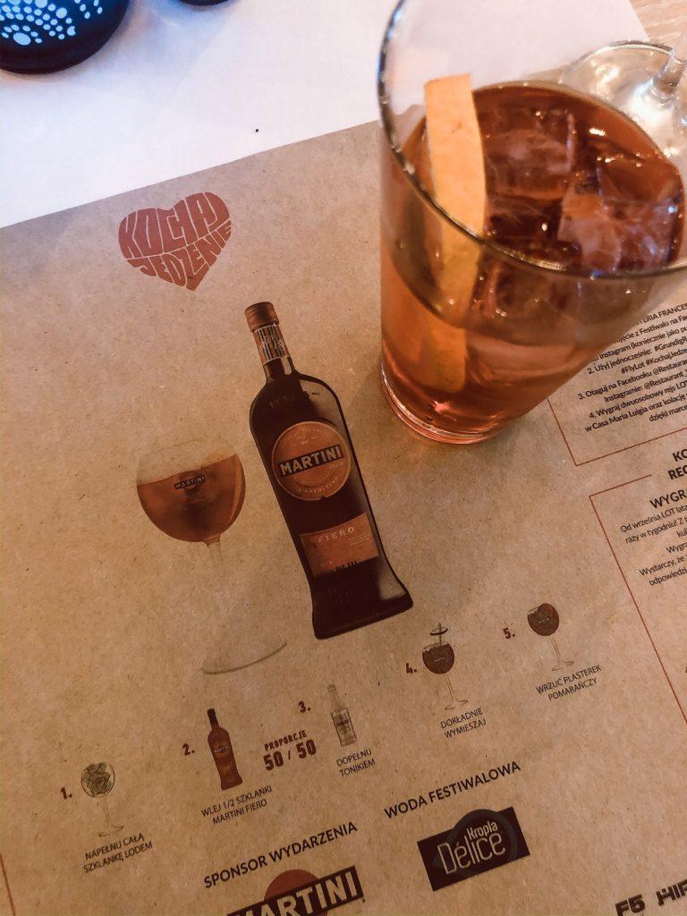 Wydział Kulinarny Wrocław aperitif Martini Fiero jak zrobić