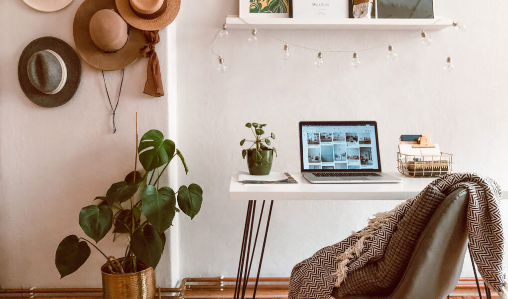 home stories, home office nomadchic.pl